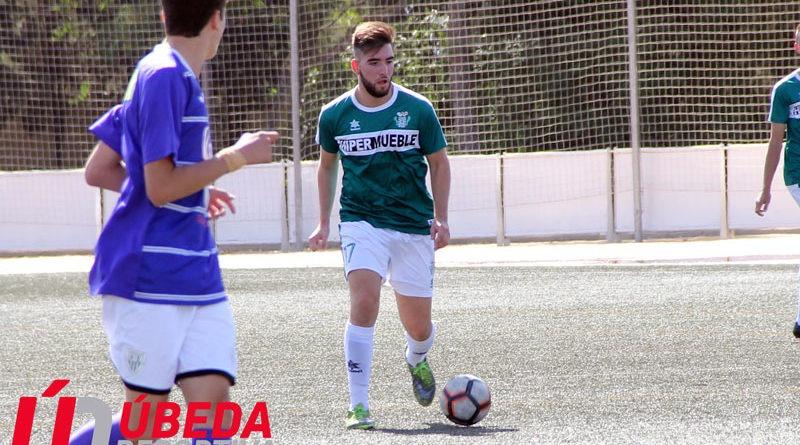 El jugador del Úbeda Viva, Carlos Cano, se perderá lo que queda de temporada