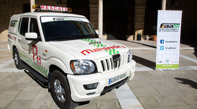 Úbeda cuenta con dos vehículos de rescate para las pruebas automovilísticas regionales