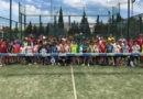 Unos ochenta jóvenes participaron en el XVII Encuentro de Pádel