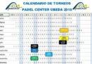Padel Center Úbeda diseña su calendario de torneos para el segundo semestre de 2018