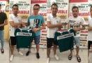 Edu, Ismael, Rayito y Pollo firman su continuidad en el Úbeda Viva