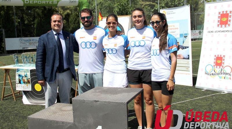El I Gran Premio de Andalucía 'Mujer y Deporte' reúne a lo más granado del tiro con arco femenino