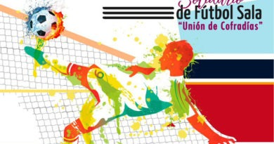 La Unión de Cofradías celebrará hasta el 1 de noviembre su III Campeonato Solidario de Fútbol Sala