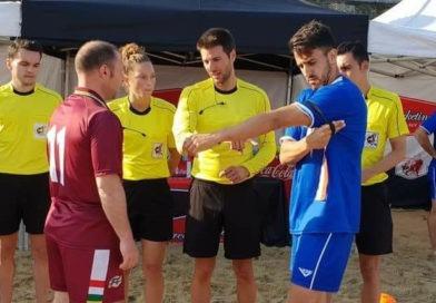 Montoro Garrido, árbitro FIFA de fútbol playa