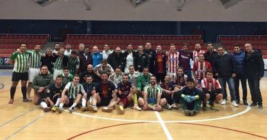 El cuadrangular benéfico de fútbol sala celebró su séptima edición a beneficio de la Asociación Libre de Adicciones Cástulo