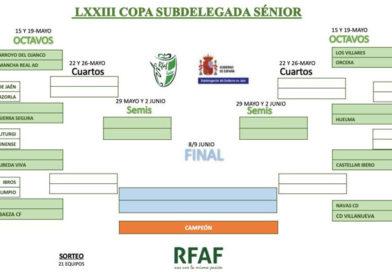 El Úbeda Viva se medirá al vencedor del Iliturgi-Carolinense en los octavos de la Copa Subdelegada