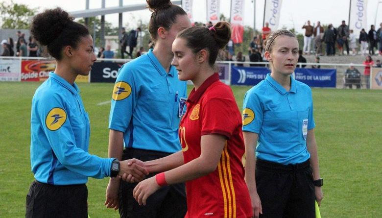 Noelia participó en el amistoso frente a Francia