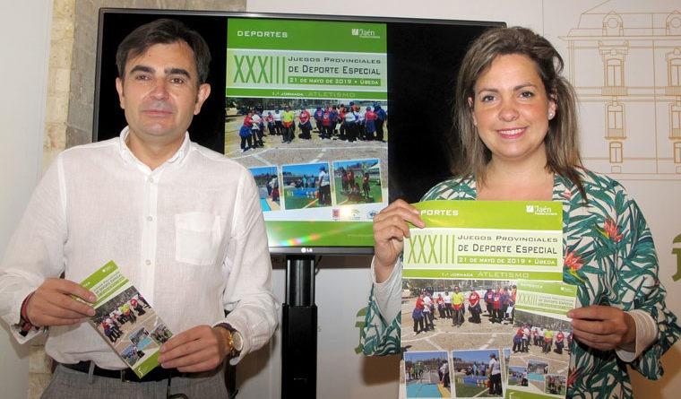 Más de 600 personas participan este martes en Úbeda en los Juegos de Deporte Especial de Diputación