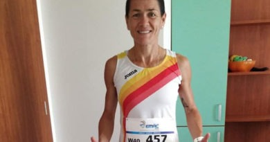 Lola Chiclana, campeona de Europa Master en 10.000 m