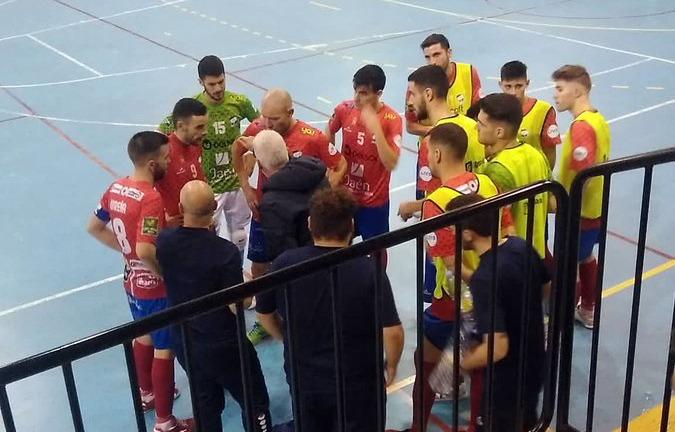 Pedro Flores y Jesús Gómez suma y sigue en la Copa del Rey con el Mengíbar FS