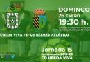 El Úbeda Viva FS se juega el liderato con el CD Bélmez Atlético