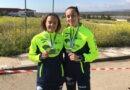 Andrea Cobo y Ana Blanco, subcampeonas sub'18 del Andaluz de campo a través
