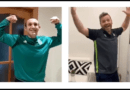 Los entrenadores de fútbol sala del Úbeda Viva hacen su particular versión de 'Resistiré'