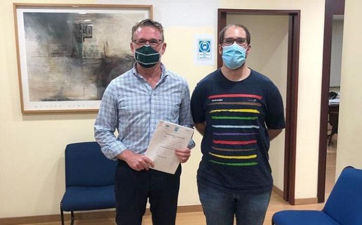 Úbeda Atlantes y Jaén RC firman un convenio de filiación