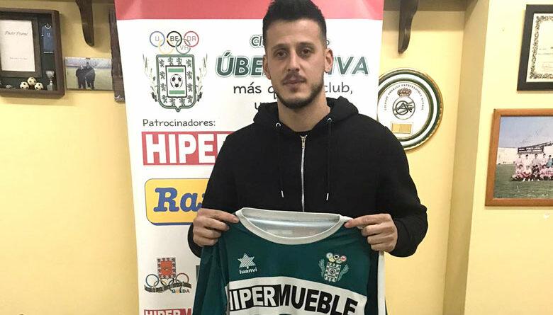 El CD Úbeda Viva recupera a Jaime Ráez para sumar en ataque