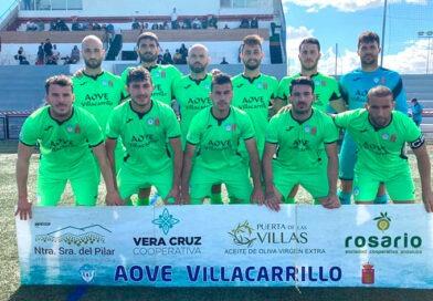 Agustín Villacañas firma un hat-trick en el empate del Villacarrillo ante el San Pedro