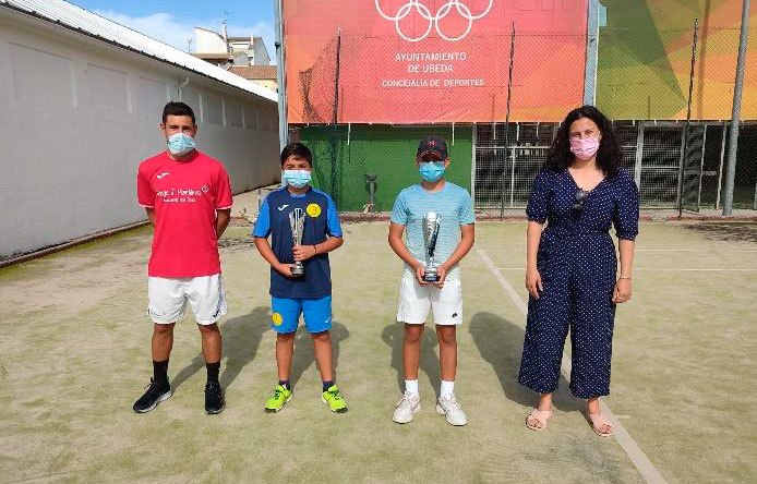 Úbeda acogió el torneo 5 del Andalucía Tenis Tour nivel 2