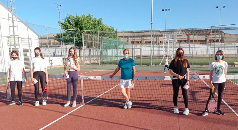Clausura de la temporada en la Escuela Municipal de Tenis
