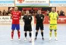 Pulido Campos arbitró el amistoso entre Mengíbar FS y Jaén Paraíso Interior