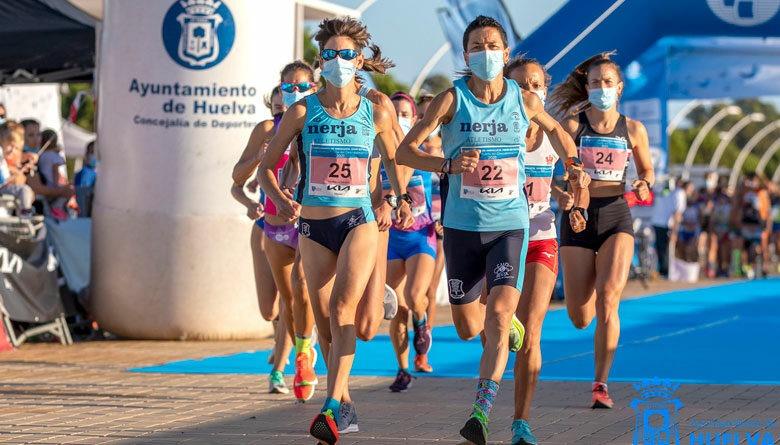 Lola Chiclana, campeona de Andalucía en los 10 kilómetros de ruta de Huelva